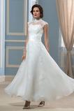 Robe de mariée Haute Couvert Naturel taille aligne Glamour Plage