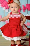 Robe de baptême Norme Fleurs Princesse Haute Couvert Sans Manches