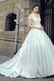 Robe de mariée Printemps Luxueux A-ligne Lacez vers le haut Manquant