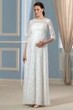 Robe de mariée Fermeture éclair Automne noble Manche de T-shirt
