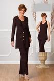 Robe de mère pantalon de costume Rectangulaire Luxueux Ruches