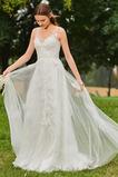 Robe de mariée Train de petit Sans Manches Chic Fourreau Avec Bijoux