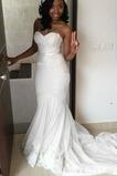 Robe de mariée Automne Sans Manches Petites Tailles Perspectif