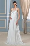 Robe de mariée Empire Maternité Sans Manches taille haute Printemps