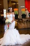 Robe de mariée Sirène Mancheron Plage Fourreau Avec Bijoux Appliques