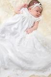 Robe de baptême Princesse Printemps Longue Empire Cérémonial Haute Couvert