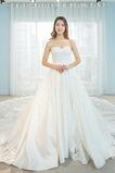 Robe de mariée Traîne Longue Décolleté Dans le Dos Triangle Inversé