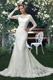 Robe de mariée Bouton Haute Couvert Fourreau Longue Naturel taille