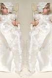 Robe de baptême Manche de T-shirt Empire Automne Princesse Manche Courte
