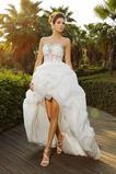 Robe de mariée Naturel taille Manquant Automne Plage Appliques