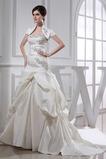 Robe de mariée Manquant Sans Manches Avec la veste Salle des fêtes