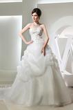 Robe de mariée Longue Fourreau Avec Bijoux Printemps Salle a ligne