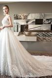 Robe de mariée Naturel taille A-ligne Formelle Longue Printemps