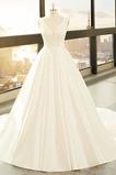Robe de mariée Poire Eglise Elégant A-ligne Printemps Naturel taille