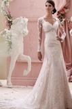 Robe de mariée Perle Traîne Moyenne Chapelle Norme Froid Gaze