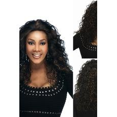 La nouvelle vente de perruque comme hot cakes les cheveux européens et américains fashion lady Cathy