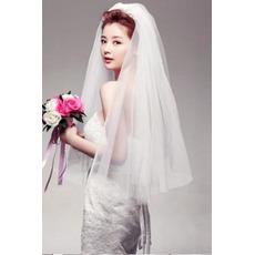 Voile de mariée Gradins Glamour Printemps