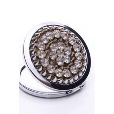 Affaires annonce Portable gros Top grade métal pliant petit miroir & peigne