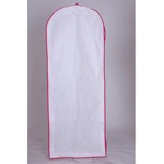 Non tissé blanc grand cache-poussière robe mariage robes étanche à la poussière Sac recouvert depuis longtemps à la poussière