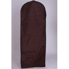 Mariage robe cache-poussière fil épais tissu étanche brun accroché la robe de mariée fait impression pare-poussière