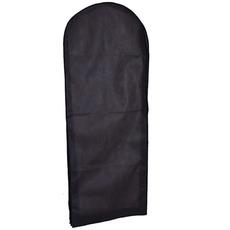 Épais noir non-tissée gaze robe housse robe poussière Sac robe de haute qualité cache-poussière