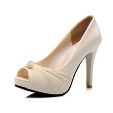 Sandales à plateforme à talons hauts sexy chaussures de bouche de poisson de mode chaussures de banquet