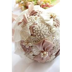 Thème de mariage bouquet mariée bouquet créatif ruban main