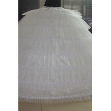 Jupon de mariage Wedding dress Long Six rims Vintage Elastic waist