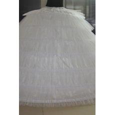 Jupon de mariage Wedding dress Long Six rims Vintage Elastic waist