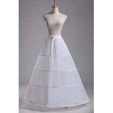 Jupon de mariage Standard Four rims Adjustable Fashionable Polyester taffeta
