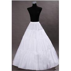 Jupon de mariage Wedding dress Perimeter Frameless Standard Elastic waist