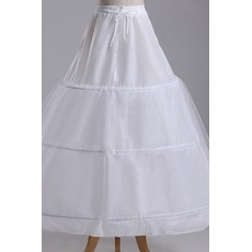 Jupon de mariage Three rims Strong Net Full dress String Adjustable