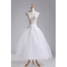 Jupon de mariage Three rims Strong Net Full dress Two bundles