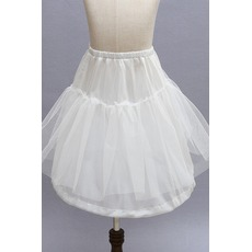 Jupon de mariage Children dress Frameless Fashionable Elastic waist