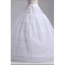 Jupon de mariage Two bundles Strong Net Wedding dress Long Six rims