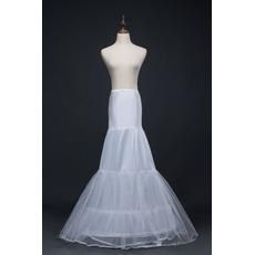 Jupon de mariage Long Mermaid Double yarn Spandex Corset Wedding dress