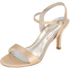 Sandales de mariage de bal talons hauts chaussures de mode Stiletto