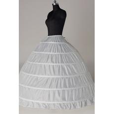 Jupon de mariage Six rims Expand String Width Full dress Adjustable
