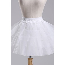 Jupon de mariage Ballet skirt Short Double yarn Elastic waist