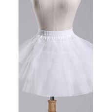 Jupon de mariage Ballet skirt Short Double yarn Elastic waist
