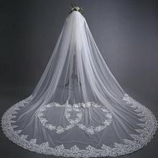 Dentelle de mariage voile mariée voile de fuite 3 mètres de long accessoires de mariage usine en gros