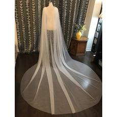 3M voile de châle tulle simple voile de mariée manteau