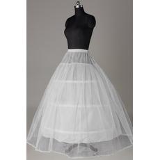 Jupon de mariage Strong Net Wedding dress Lace trimming Standard