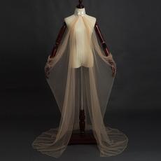 Costume elfe conte de fées manteau de mariage en tulle châle costume médiéval