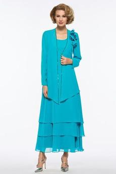 Robe Mère de Mariée Luxueux Naturel taille Glissière Sablier Perler
