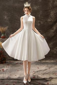 Robe de mariée Appliquer Triangle Inversé De plein air Soie A-ligne