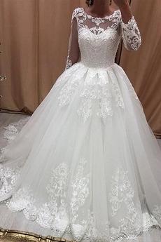 Robe de mariée Rivage Naturel taille Elégant Longueur ras du Sol