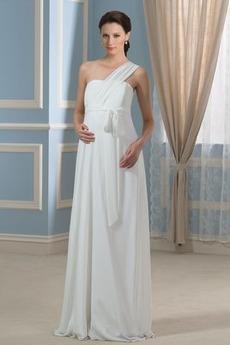 Robe de mariée Epurée Plus la taille Longueur ras du Sol Zip Empire
