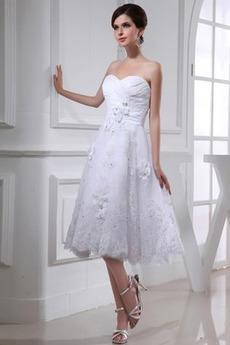 Robe de mariée Sans Manches Tulle De plein air Dos nu Bustier