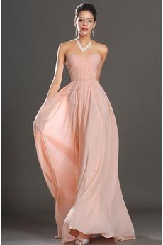 Robe de Soirée Exquisite Longueur au sol Sans bretelles Luxueux